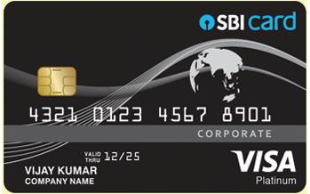 sbi platinum corporate card - Visa Corporate Card