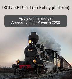Apply for IRCTC SBI Card