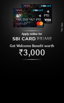 Apply SBI Card Prime Online