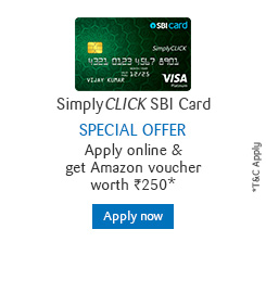 Apply for SimplyClick SBI Card