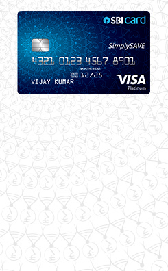 Apply SBI Simply Save Credit Card Online