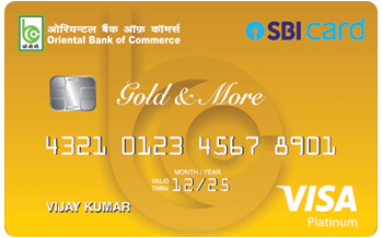 Oriental Bank of Commerce - SBI Card