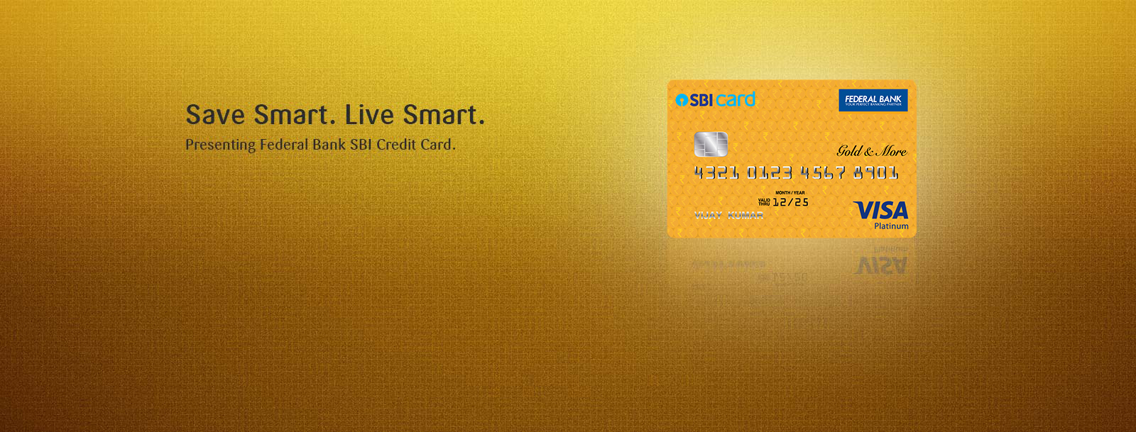 Federal Bank SBI Credit Card - Apply Online - Eligibility
