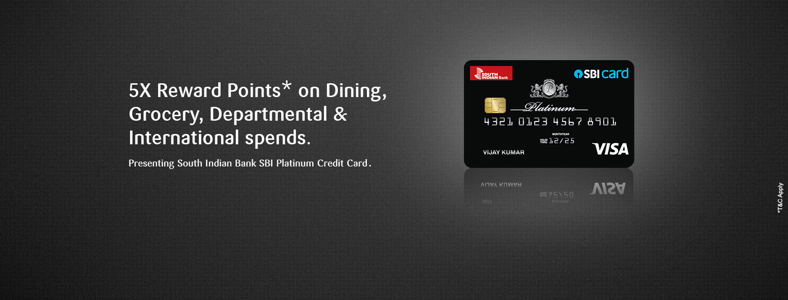 South Indian Bank Sbi Platinum Credit Card