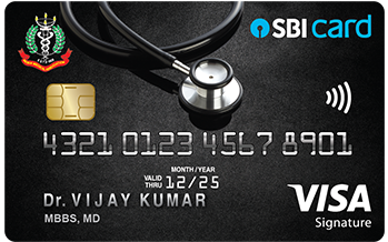 Doctor's SBI Card
