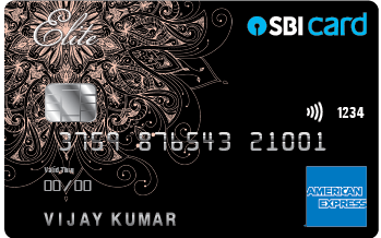 SBI Card ELITE American Express Card