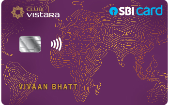 Club Vistara SBI Card