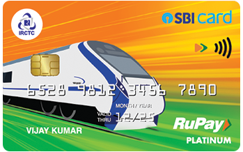 IRCTC SBI Card (on RuPay platform)