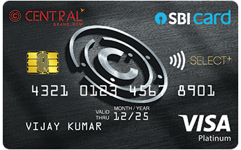 Central SBI Select+ Card
