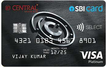 Central SBI Select Card