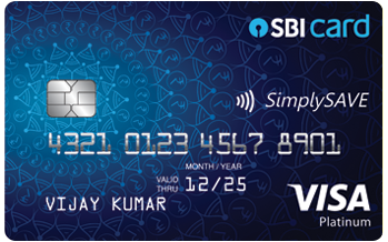 SBI SimplySAVE Credit Card - Benefits and Features - Apply