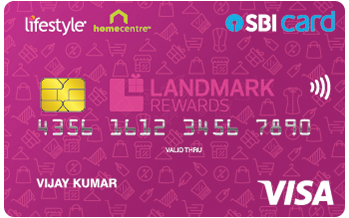 Lifestyle Home Centre SBI Card