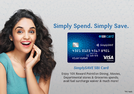 SBI SimplySAVE Credit Card - Benefits and Features - Apply Now | SBI