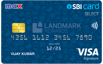 Max SBI Card SELECT