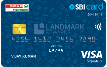 Spar SBI Card SELECT