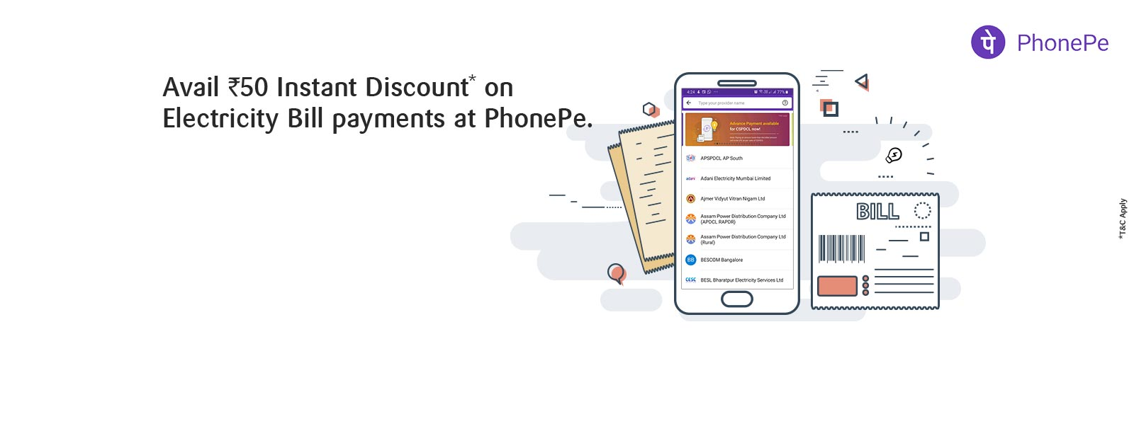 Electricity Bill Payment Phonepe Offer Sbi Card