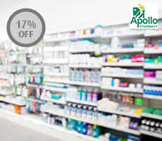 15% discount on Apollo branded products  12.5% discount on medicines  5% discount on FMCG/OTC