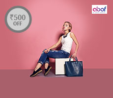 Get Rs 500 Instant discount at abof.com  Min. Purchase: Rs 1495