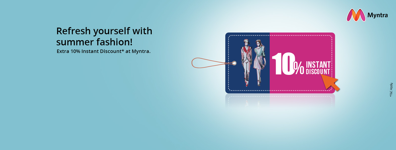 Get 10 Instant Discount At Myntra On Sbi Credit Cards Sbi