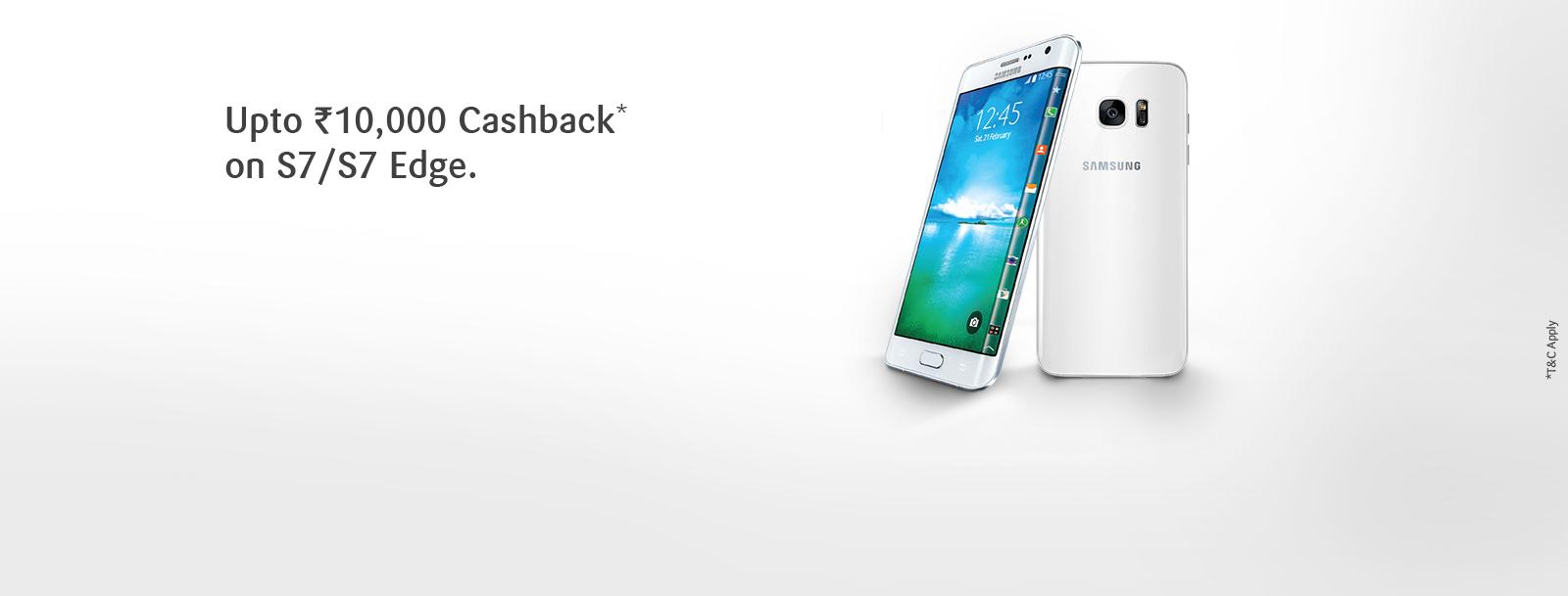 Upto Rs10000 Cashback On Samsung Mobiles Galaxy S7 Edge G935 128 Gb